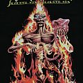 """IRON MAIDEN """"Seventh Son..."""" 2012 Re-Print 1-sided XL official"""