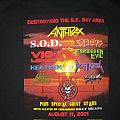 TShirt or Longsleeve - THRASH OF THE TITANS  2001 Chuck Billy Benefit Anthrax, S.O.D., Exodus, Violence, Forbidden Evil, Death Angel, Heathen, Legacy,