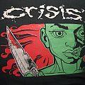 "TShirt or Longsleeve - CRISIS ""Crisis N.Y.C."" 1996 green shirt"