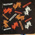 "Sepultura - Patch - SEPULTURA 1992 Org. Bandana - Version 1 - ""Arise"""
