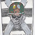 "S.O.D.  Org. 1991 ""Speak English Or Die"" Megaforce  Backpatch"