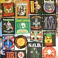 thrash / crossover patches gang green, dri, sacred reich, mod, coc, suicidal, sod,