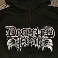 "DESERTED FEAR ""My Kingdom/Logo"" Zipper 2012 Hooded Top"