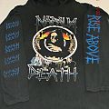 Napalm Death - TShirt or Longsleeve - Napalm Death Tour 1990 Hooded Longsleeve