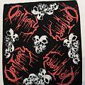 "Obituary ""Pile of Skulls"" 1992 Bandana - Official Patch"