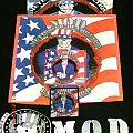 "M.O.D. - Patch - M.O.D. ""U.S.A. for M.O.D."" Collection- LP, CD, Backpatch, Patch,  Shirt"