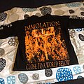 Immolation - Close to a word below Original Long-Sleeve TShirt or Longsleeve