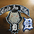 Cold As Life custom made leather patches