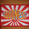 Loudness - Patch - Loudness VTG Patch red border