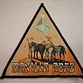 Manilla Road Crystal Logic heavy metal patch rare bootleg