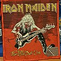 Iron Maiden - Patch - Iron Maiden - Fear of the Dark Live patch