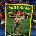 Iron Maiden - Patch - Iron Maiden - Somewhere On Tour patch bootleg