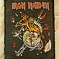 Iron Maiden - Patch - Iron Maiden - World Piece Tour vtg patch