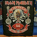 Iron Maiden - Patch - Iron Maiden - The Ten First Years square vtg patcg