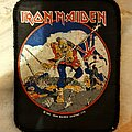 Iron Maiden - Patch - Iron Maiden - The Trooper vtg printed patch