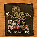 Iron Maiden - Patch - Iron Maiden - Killer tour 81 vtg