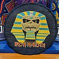 Iron Maiden - Patch - Iron Maiden | Powerslave | Round vtg patch