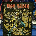 Iron Maiden - Patch - Iron Maiden - Piece Of Mind vtg patch