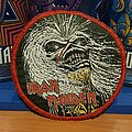 Iron Maiden - Patch - Iron Maiden - Live After Death circle vtg patch
