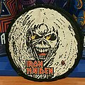 Iron Maiden - Patch - Iron Maiden | The Number of the Beast | Eddie Face circle vtg patch
