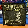 Iron Maiden - Patch - Iron Maiden - Wasted Years vtg patch