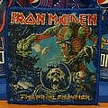 Iron Maiden - Patch - Iron Maiden - The Final Frontier bootleg patch