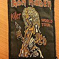 Iron Maiden - Patch - Iron Maiden - Killer Tour vtg patch