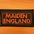 Iron Maiden - Patch - Iron Maiden - Maiden England vtg patch