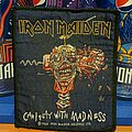 Iron Maiden - Patch - Iron Maiden - Can I Play With Madness? Vtg patch