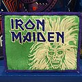 Iron Maiden - Patch - Iron Maiden | Purple & Green Eddie | Vtg Patch