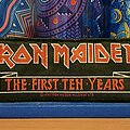 Iron Maiden - Patch - Iron Maiden - The First Ten Years vtg strip patch