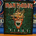 Iron Maiden - Patch - Iron Maiden | Virus | Vtg Patch