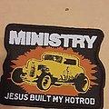 Ministry Jesus Built My Hotrod patch