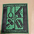Type O Negative Express Yourself patch