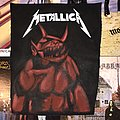 Metallica - Patch - Metallica jump in the fire back patch (hand painted)