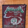 Metallica - Patch - Metallica creeping death patch ( green details/ black border)