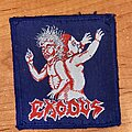 Exodus - Patch - Exodus bonded by blood (blue border)