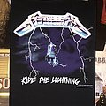 Metallica - Patch - Metallica ride the lightning back patch