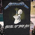 hard to find Metallica back patch