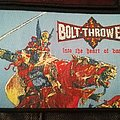 Bolt Thrower - into the heart of battle, black border Patch