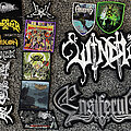 Windir - Patch - Various Black & Death Metal Woven Patches
