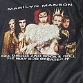Marilyn Manson Rock The Dead Tour shirt
