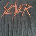 Slayer logo shirt