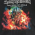 Iron Maiden Book Of Souls Tour Shirt
