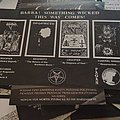 Behemoth - Other Collectable - Behemoth - The Return of the Northern Moim flyer Pagan Rec