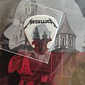 Metallica guitar pick Cracow 2018 Wawel castle Other Collectable