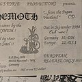 Behemoth - From The Pagan Vastlands Flyers Nazguls Eerie Other Collectable