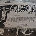Behemoth - Endless Damnation flyer of first version