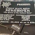 Behemoth - Other Collectable - Behemoth - The Return of the Northern Moim flyer Bestial Rec