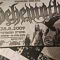 Behemoth - Evangelion flyer RavenMusic (Israel) Other Collectable